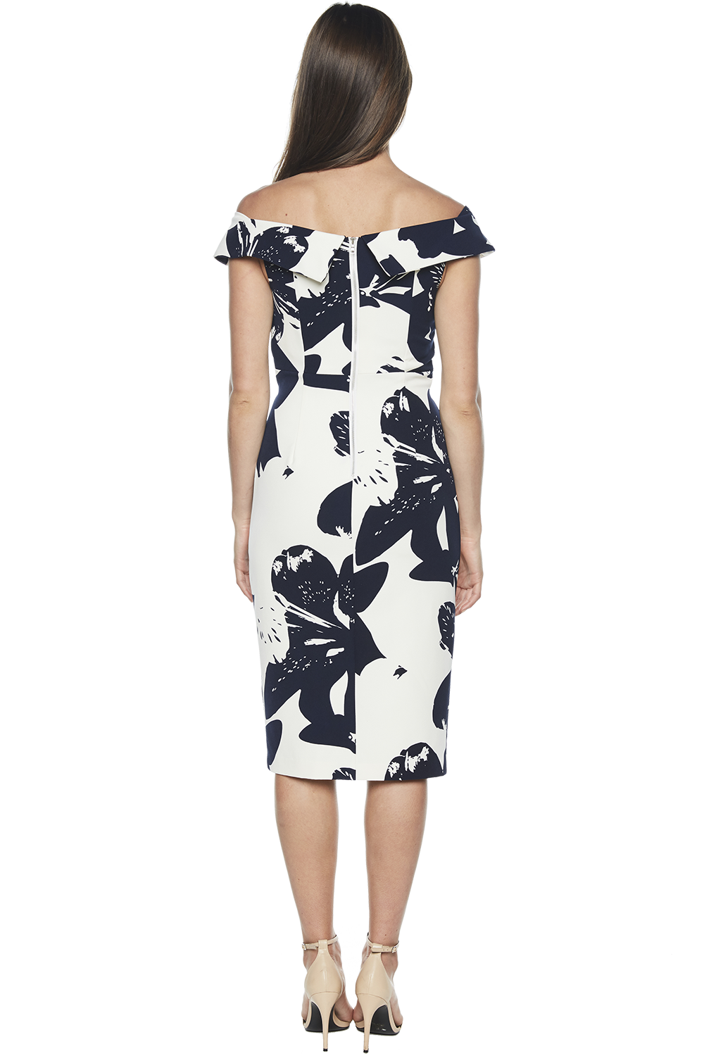 BOTANICA DRESS in colour PEACOAT