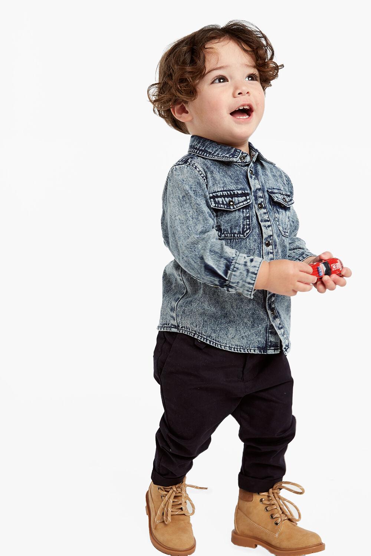 Size 0 Baby & Toddler Clothing Bardot Junior Boys Blue Shorts Braces Bottoms
