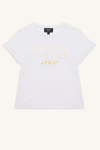 LIMITED EDITION TEE in colour CLOUD DANCER