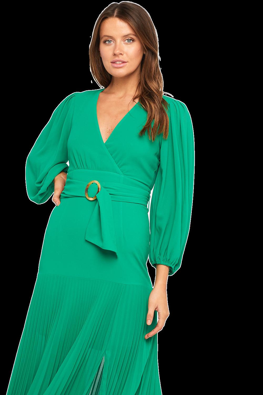 DAYTONA DRESS in colour EMERALD