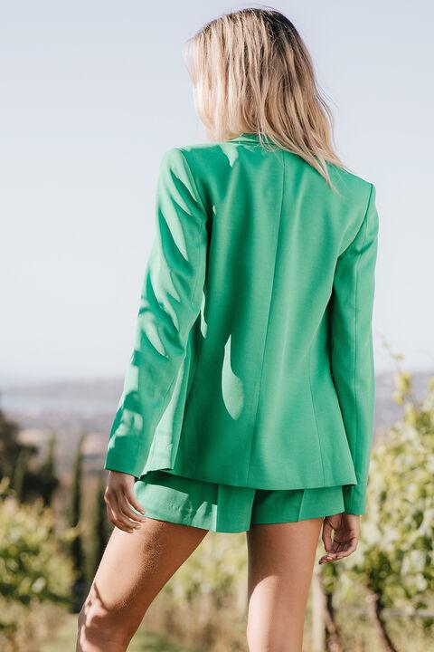 PARISIENNE BLAZER in colour KELLY GREEN