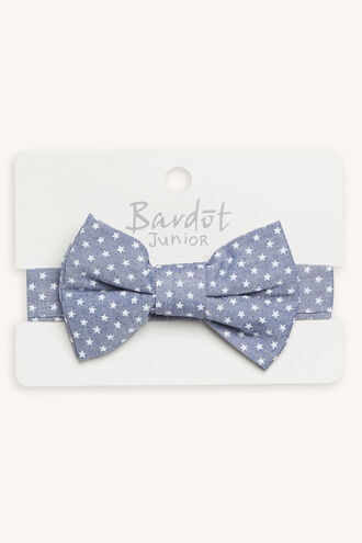 STAR BRIGHT BOW TIE in colour BLUE BELL