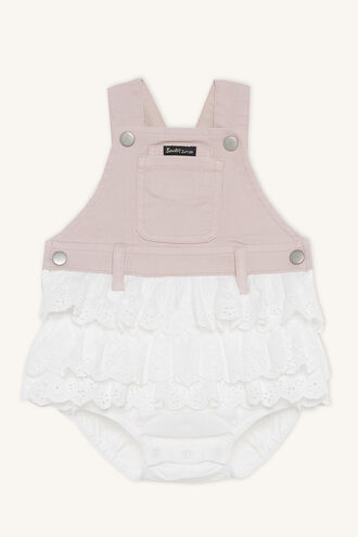 LACE OVERALL GRO in colour MISTY ROSE