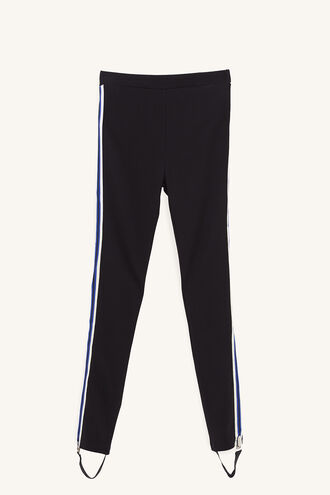 COLE PANEL PANT in colour JET BLACK
