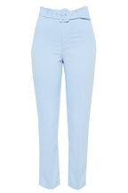 THERESE BUCKLE PANT in colour AQUAMARINE
