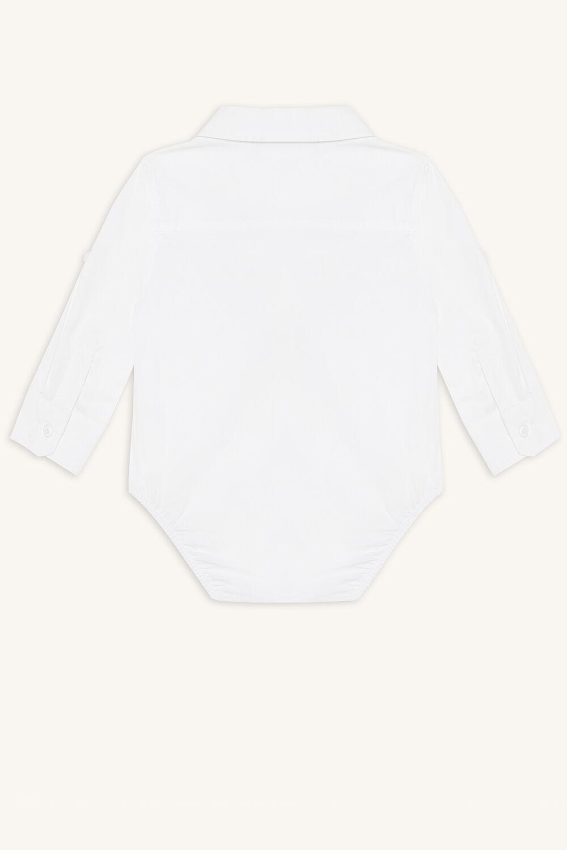 DAPPPER SHIRT GROW in colour BRIGHT WHITE
