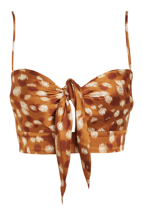 BAMBI TOP in colour GOLDEN OCHRE