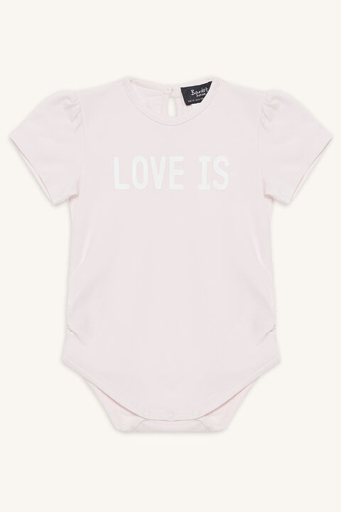 LOVE IS GROW in colour PRIMROSE PINK