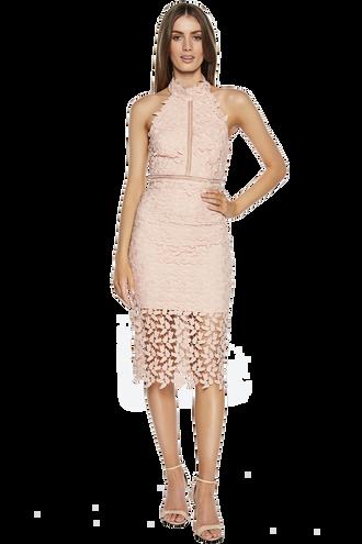 GEMMA DRESS. in colour ROSEWATER