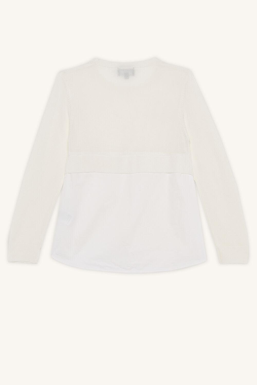 ELORA 2FER KNIT TOP in colour WHISPER WHITE