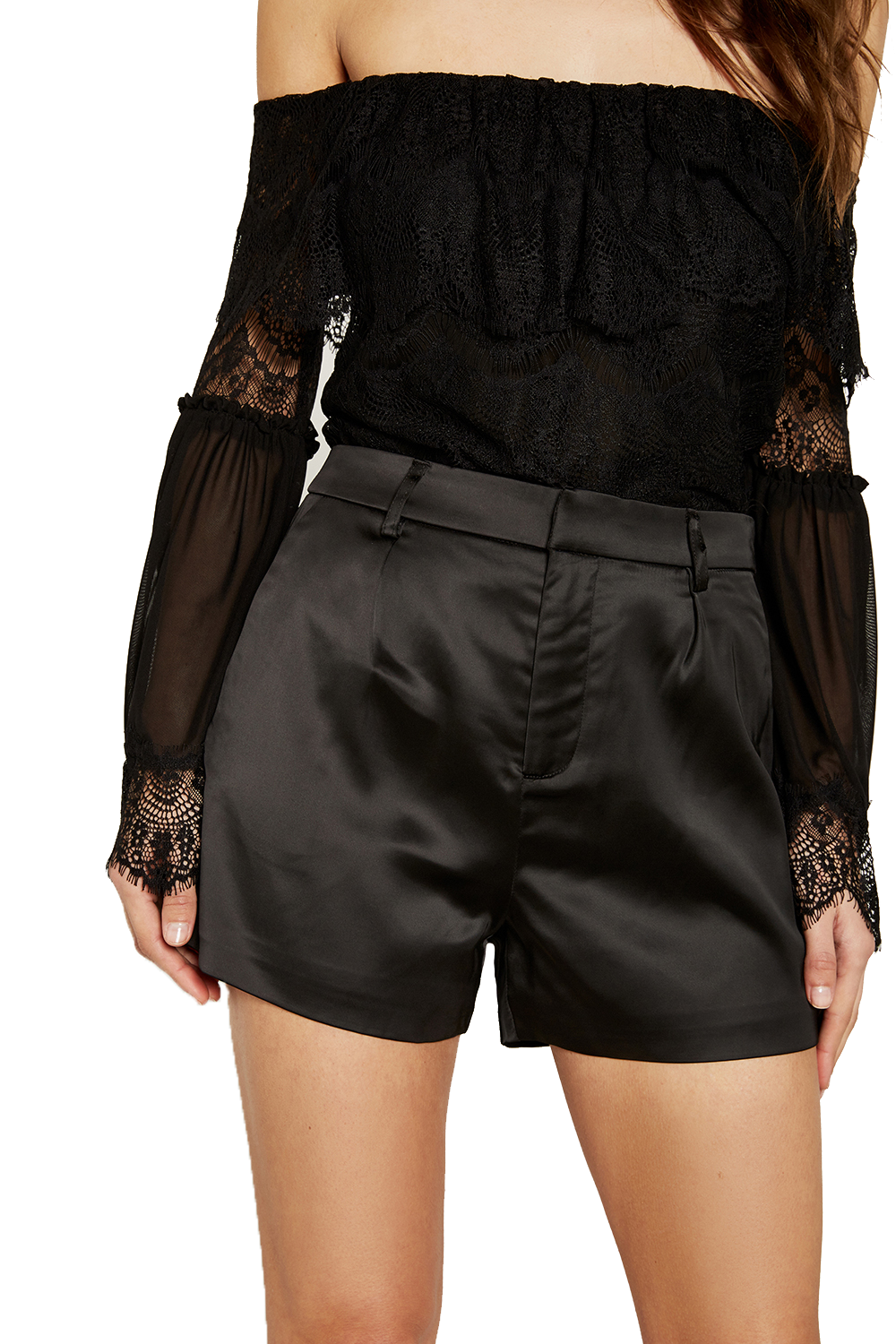 NIGHT FALL SHORT in colour CAVIAR