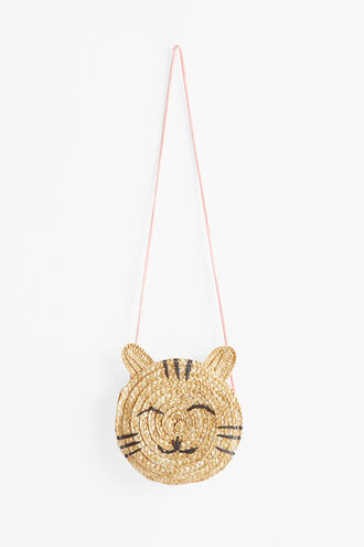 KITTY STRAW BAG in colour NATURAL