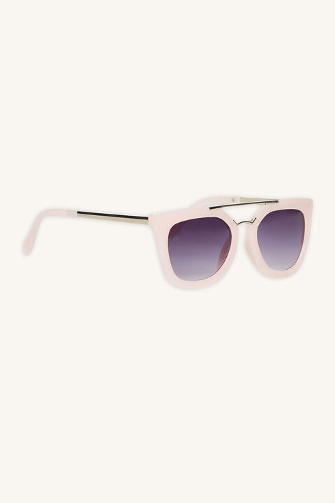 EMMA� AVIATOR SUNGLASSES in colour PINK CARNATION