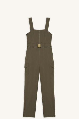 PAX UTILITY JUMPSUIT in colour OLIVINE