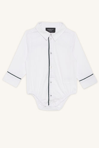 TRIM SHIRT GROW in colour BRIGHT WHITE