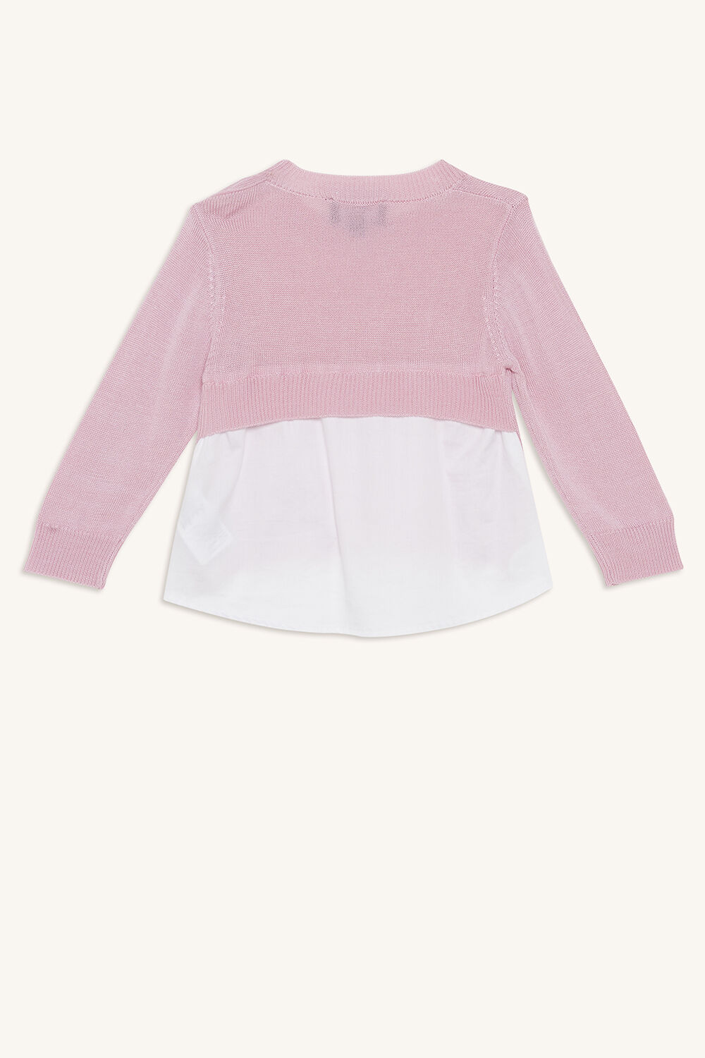 ELORA CARDIGAN in colour LILAC CHIFFON