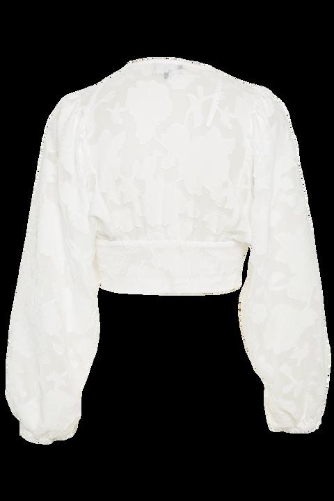 ELEANOR TOP in colour BRIGHT WHITE
