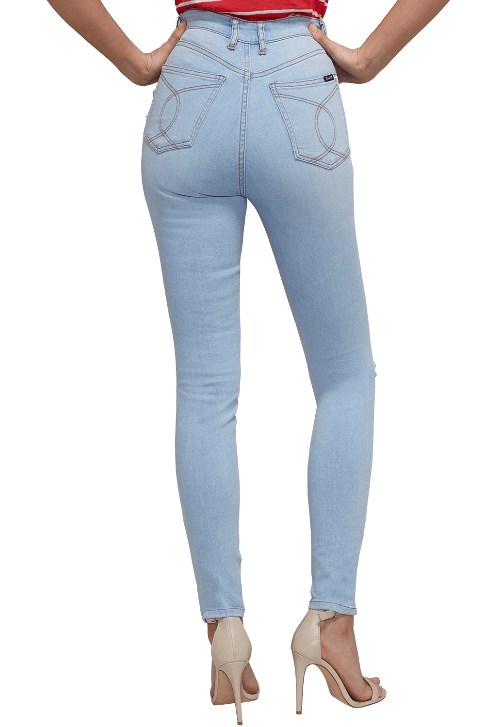 HOLLY HIGHEST RISE JEAN in colour CITADEL