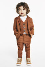 BABY BOY classic suit jacket in colour CASHEW
