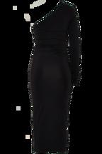 MIA DRESS in colour CAVIAR