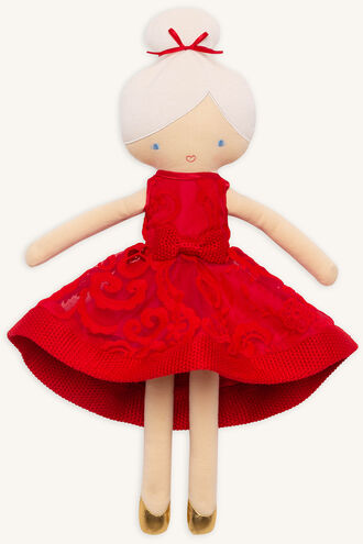 BARDOT JUNIOR DOLL in colour RED BUD