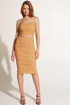 ALYX SKIRT in colour RUGBY TAN