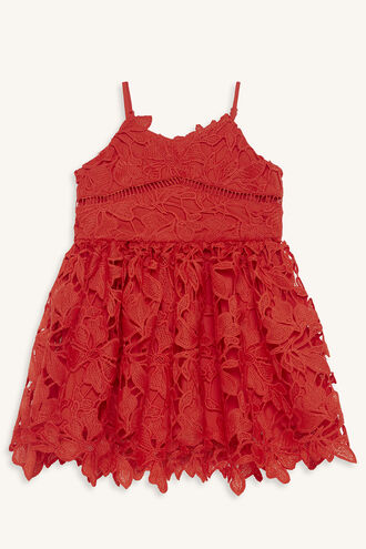 SONYA LACE DRESS in colour LOLLIPOP