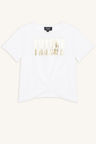FUTURE PRINCESS TEE in colour CLOUD DANCER