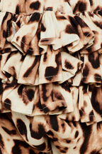 LEOPARD HAREM PANT in colour BUTTERUM