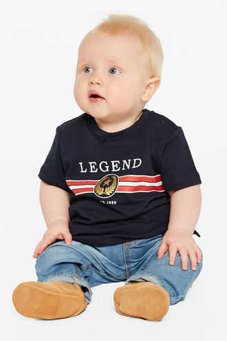 LEGEND TEE in colour BLACK IRIS
