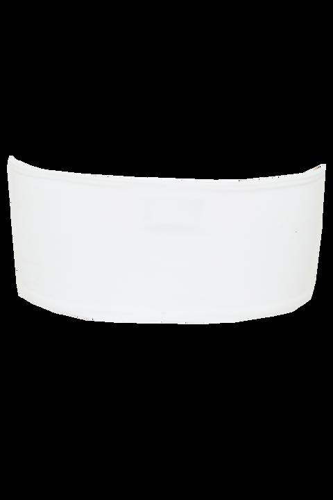 BOOB TUBE TOP in colour BRIGHT WHITE