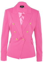 OXFORD BLAZER in colour CAVIAR