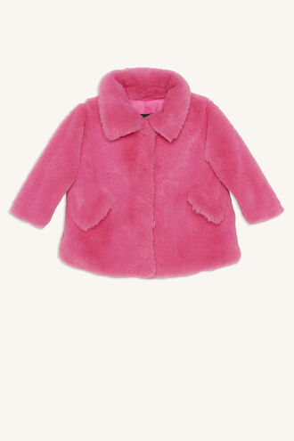 COLE PLUSH JKT in colour PARADISE PINK