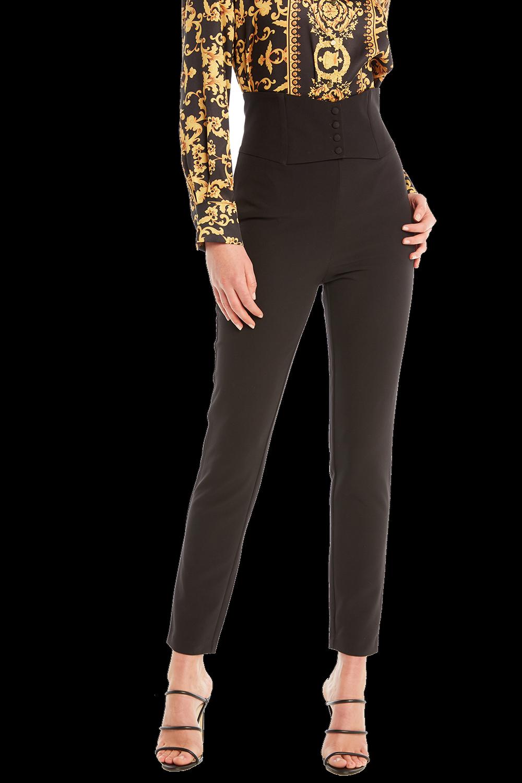 CORSET PANT in colour CAVIAR