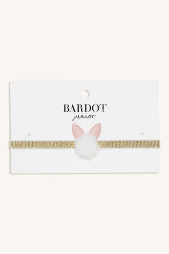 BABY BUNNY HEADBAND in colour PINK CARNATION