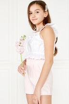 TWEEN GIRL LAYLA TOP in colour CLOUD DANCER