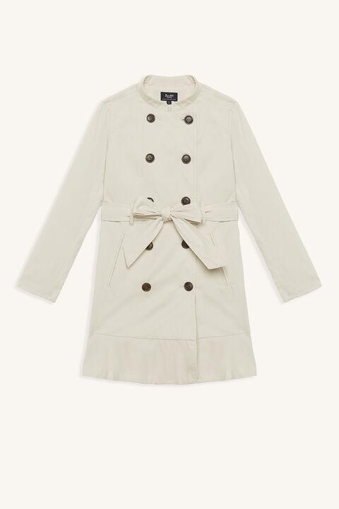 MARCI DRESS COAT in colour TAPIOCA