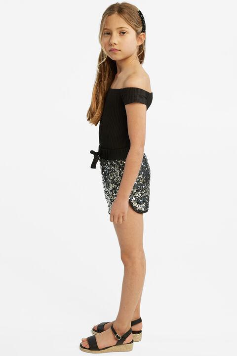 CIARA BODYSUIT in colour JET BLACK