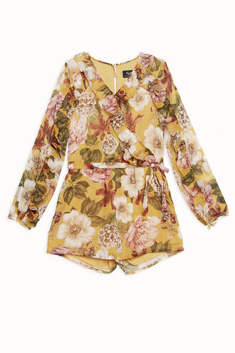 PETUNIA PLAYSUIT in colour MISTED YELLOW