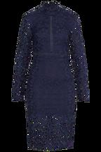 ALBERTA LACE DRESS in colour MARITIME BLUE