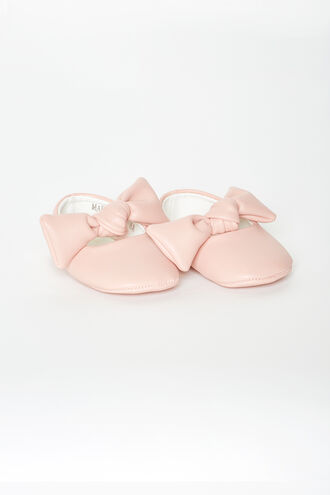 BOW BABY SHOE in colour PARADISE PINK