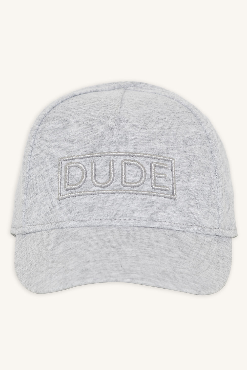 DUDE TODDLER JERSEY CAP in colour LIGHT GRAY