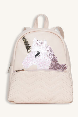UNICORN BACKPACK in colour PINK CARNATION