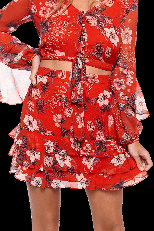 b92c60c321 Floral Rah Rah Skirt | Ladies Sale & Clothing | Bardot