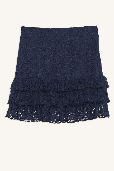 POSY RARA SKIRT in colour MARITIME BLUE