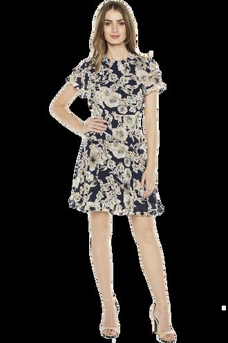 BRIANNA DRESS in colour CLOUD DANCER