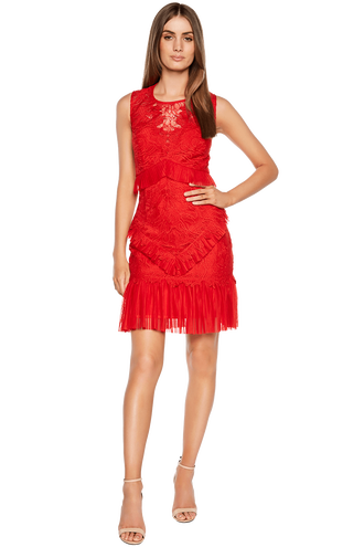 FRANCESCA DRESS in colour FIESTA