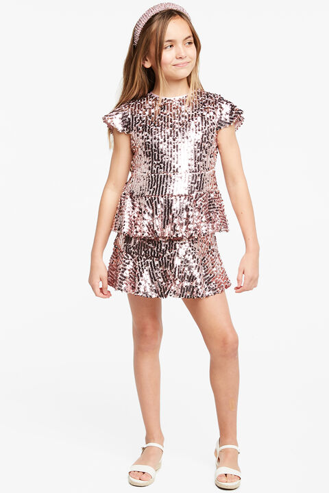 LEILA SEQUIN DRESS