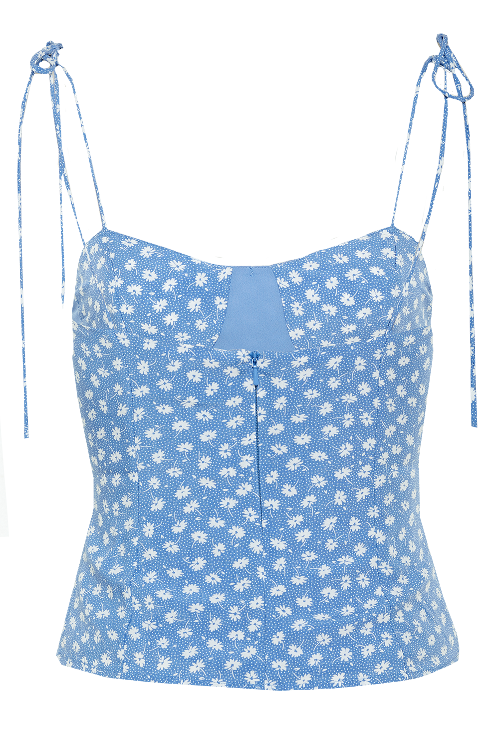 MYRIA TOP in colour POWDER BLUE