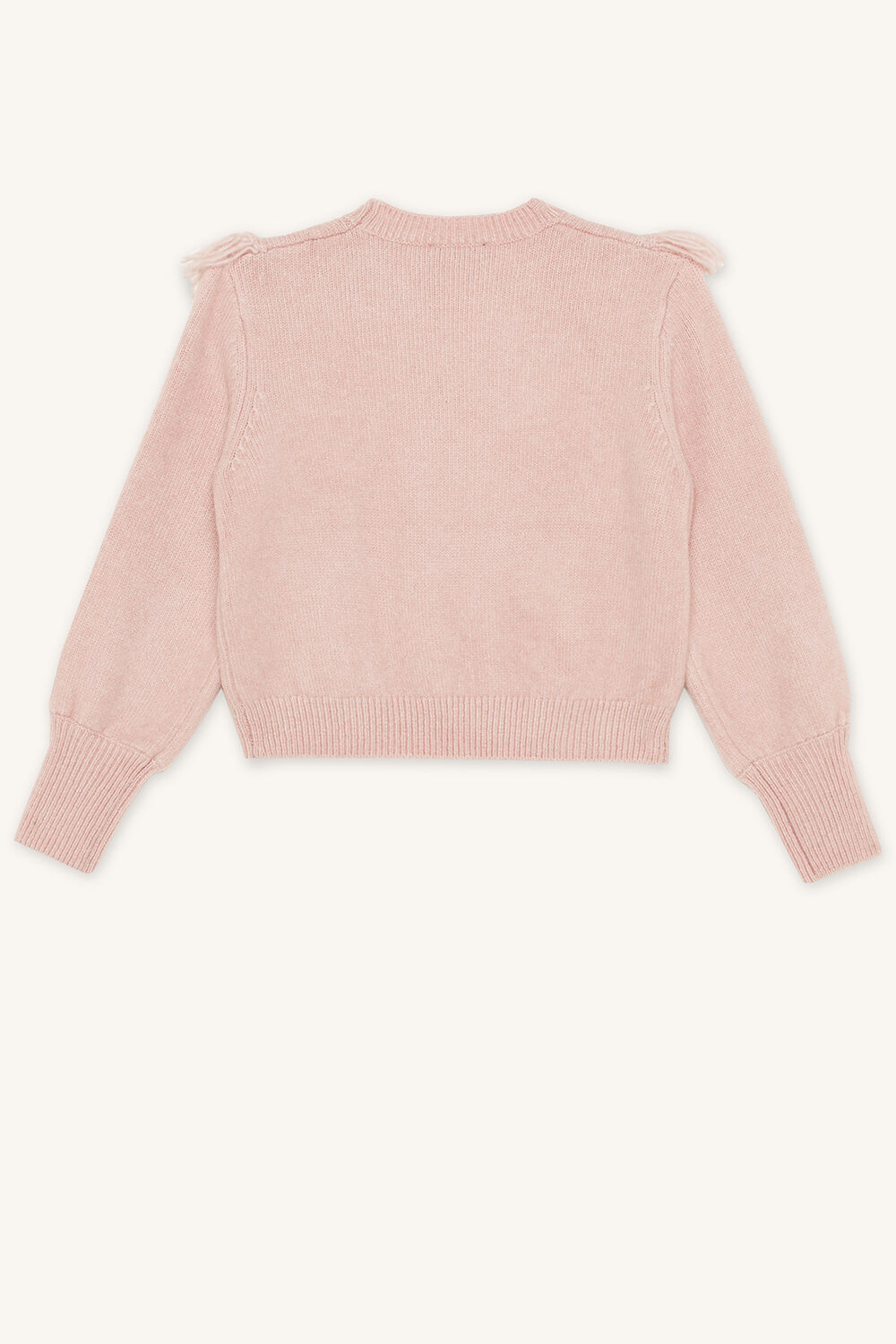 TWEEN NELL CABLE KNIT in colour PARADISE PINK